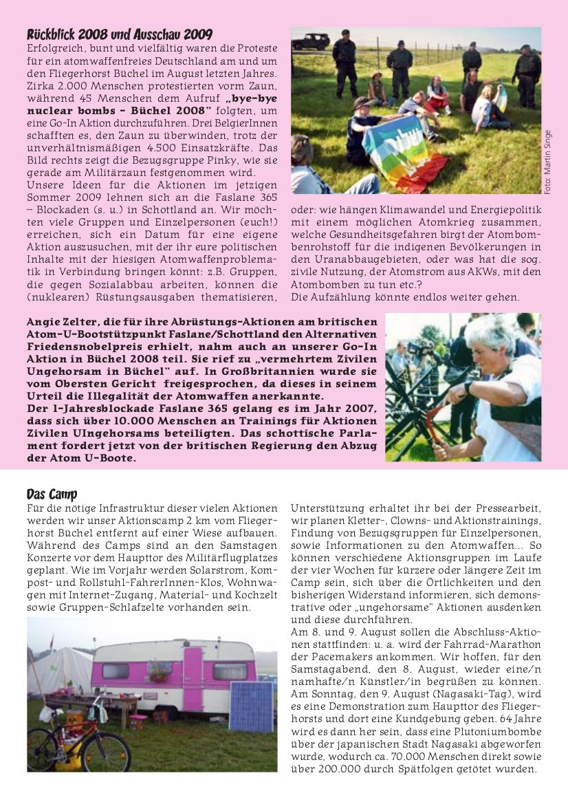 GAAA Aufrufflyer 2009, Seite 2 von 4