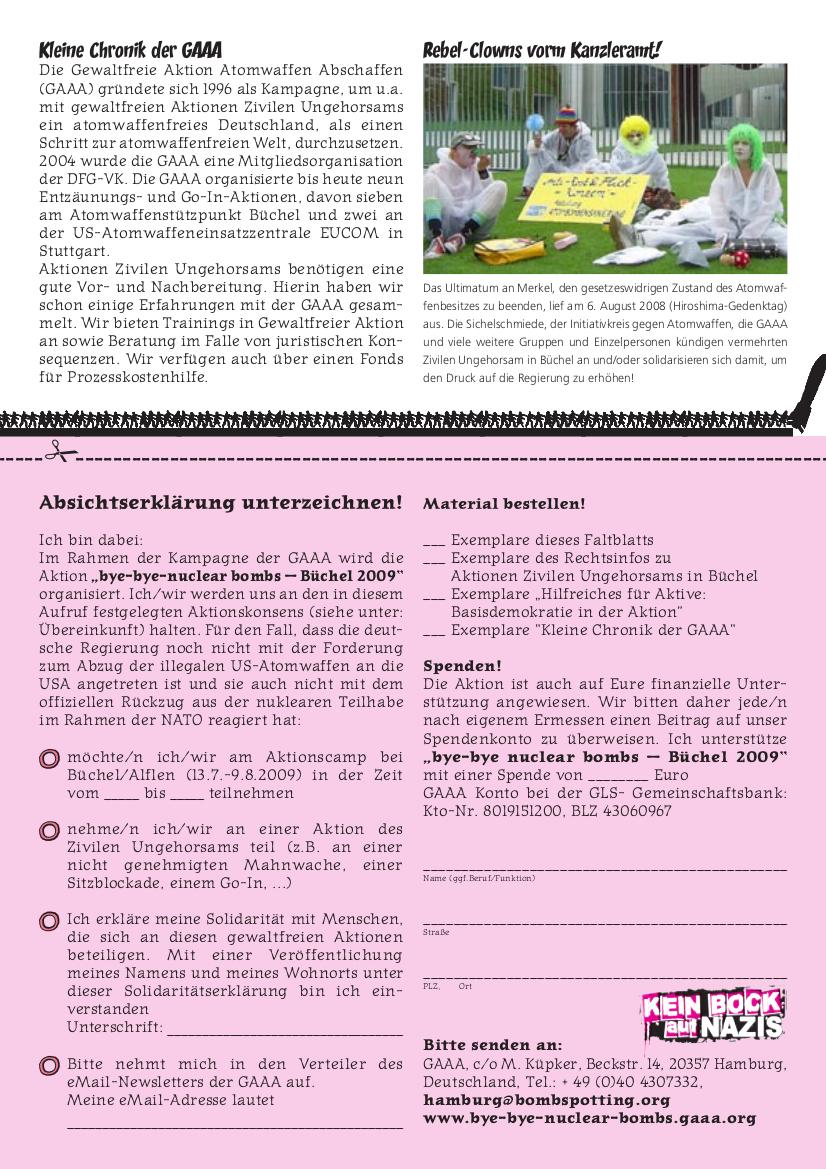 GAAA Aufrufflyer 2009, Seite 4 von 4