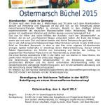 Ostermarsch 2015 Aufruf