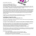 büchel65 Gerichtstermin und neue Blockade
